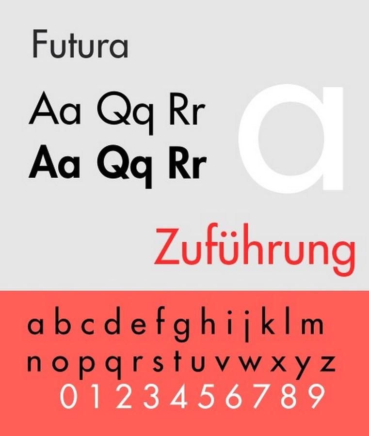Fonts for Architects -Futura - Sheet1