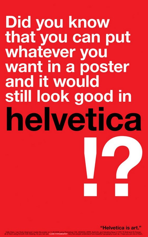 Fonts for Architects -Helvetica - Sheet1