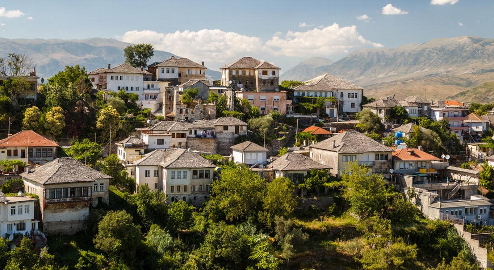 Architecture of Berat and Gjirokastra - Sheet4