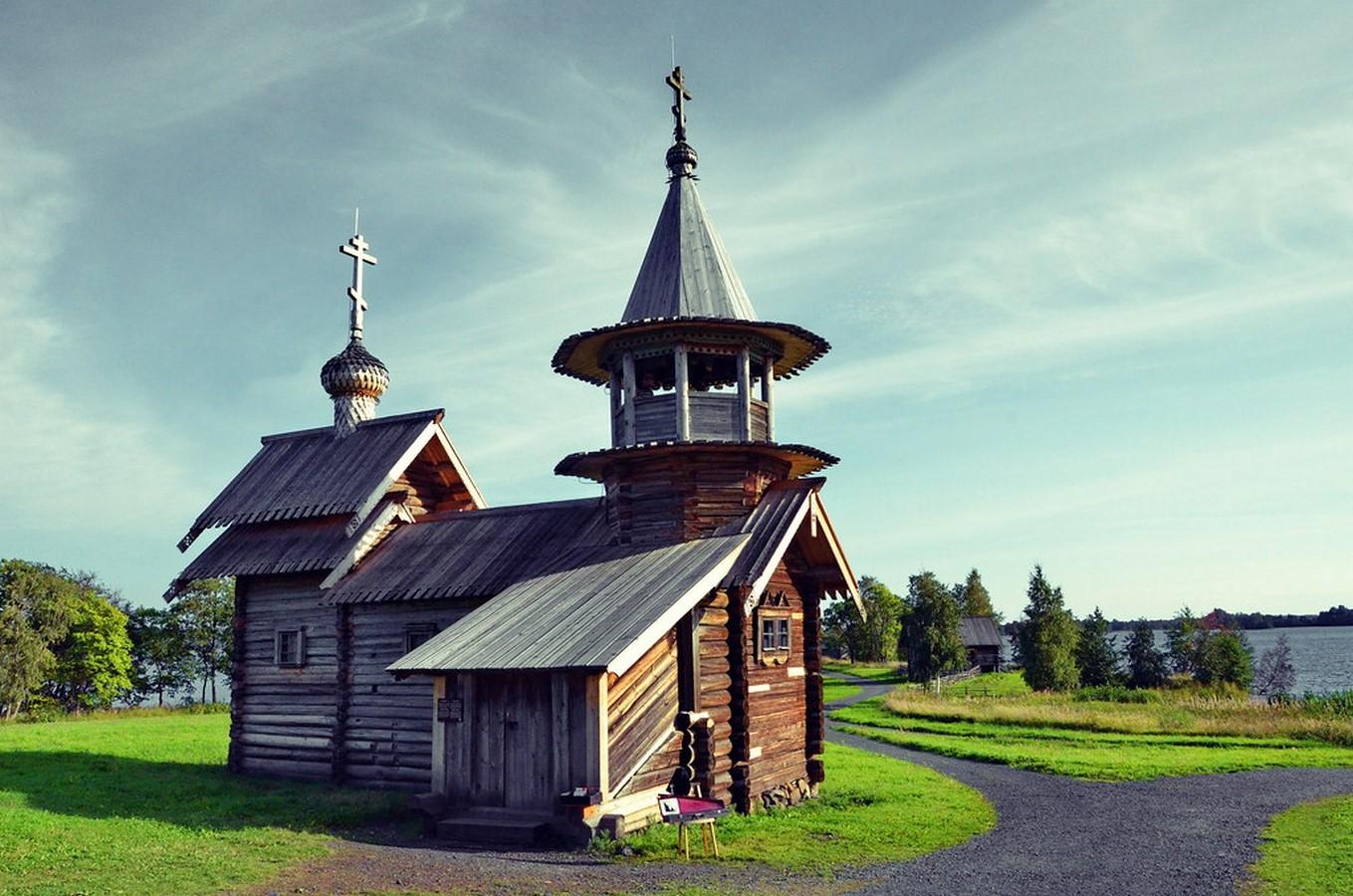 Wooden Architecture of Kizhi Island, Russia - Sheet11