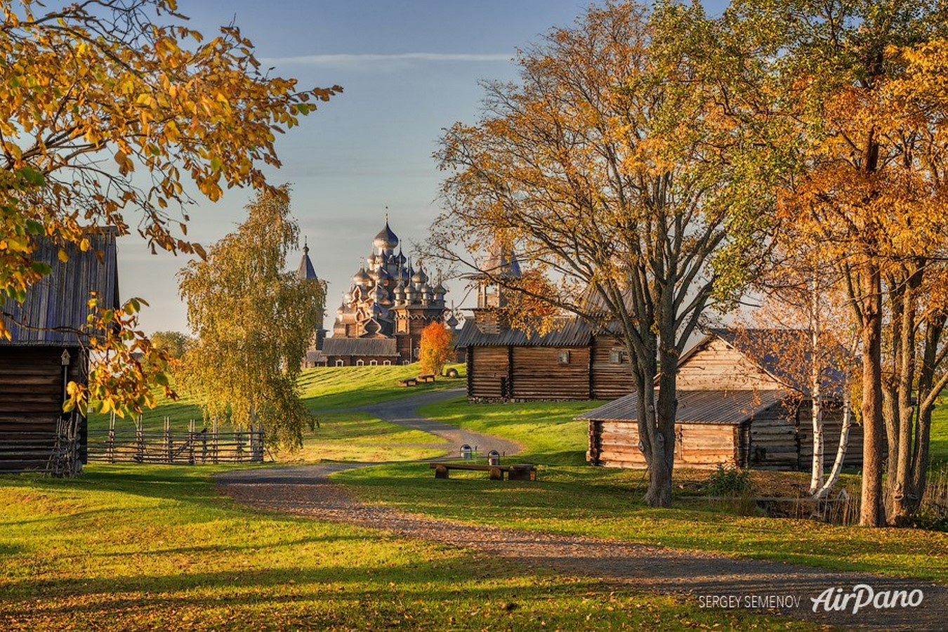 Wooden Architecture of Kizhi Island, Russia - Sheet2