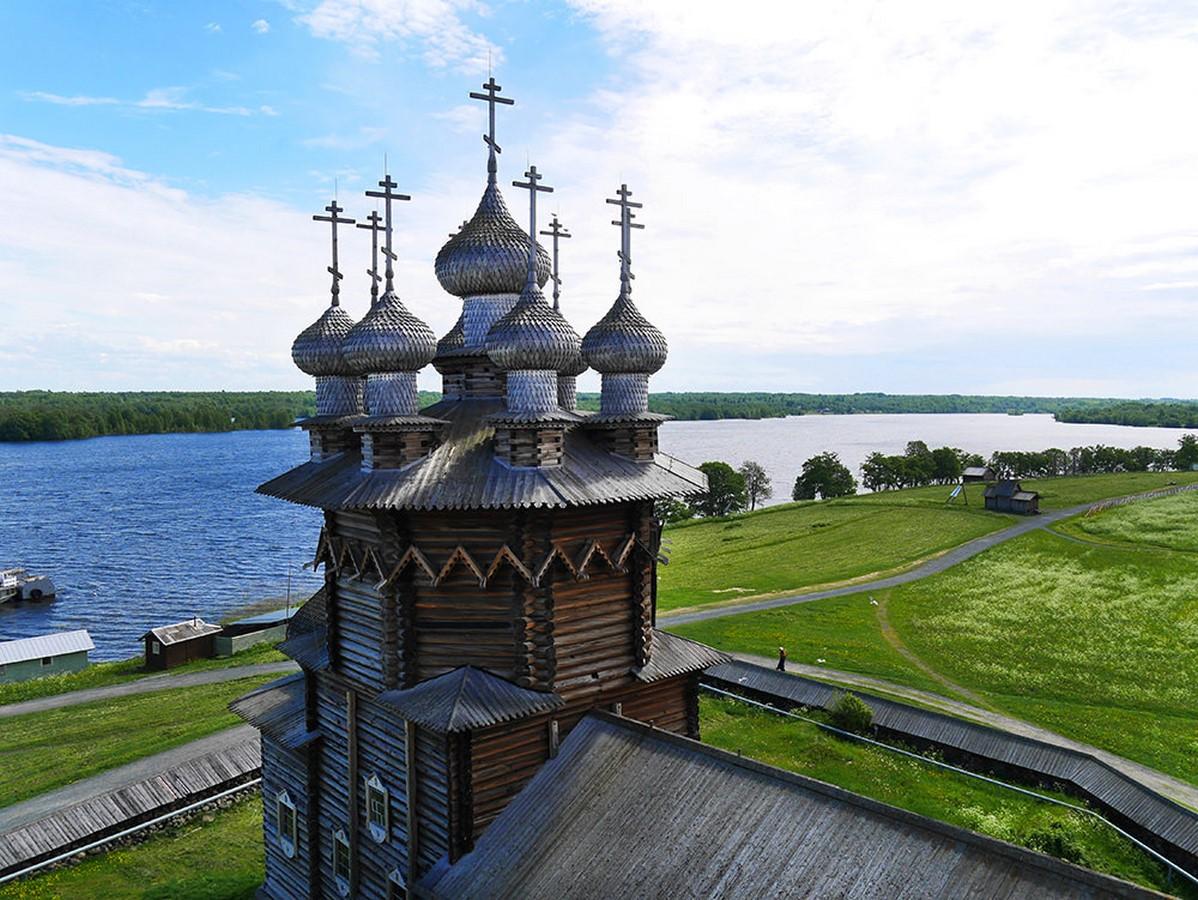 Wooden Architecture of Kizhi Island, Russia - Sheet8