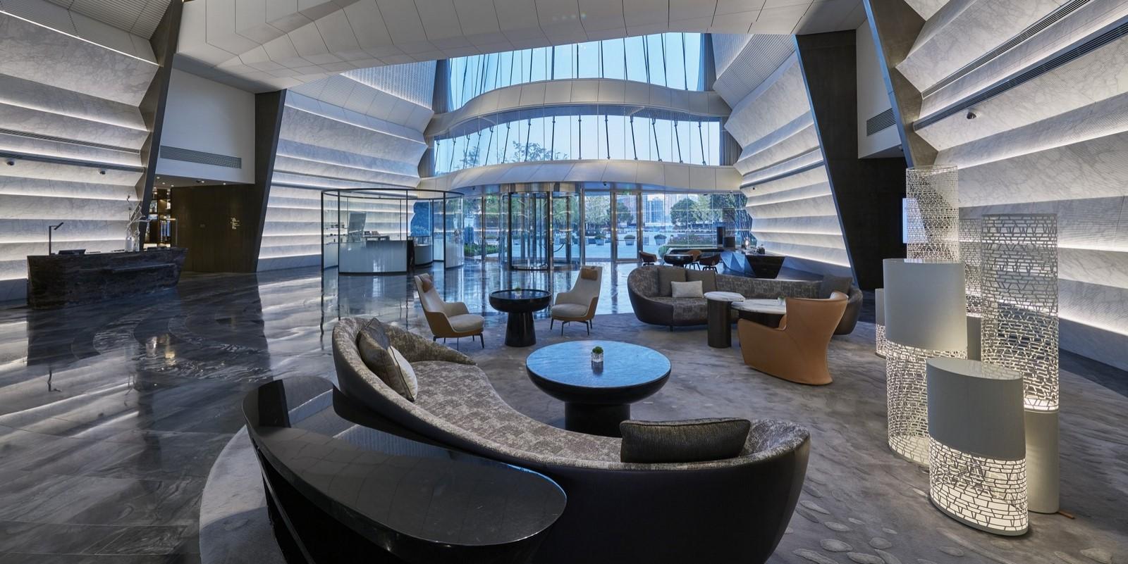 A look at Marriott Hotel's Interiors - Sheet2