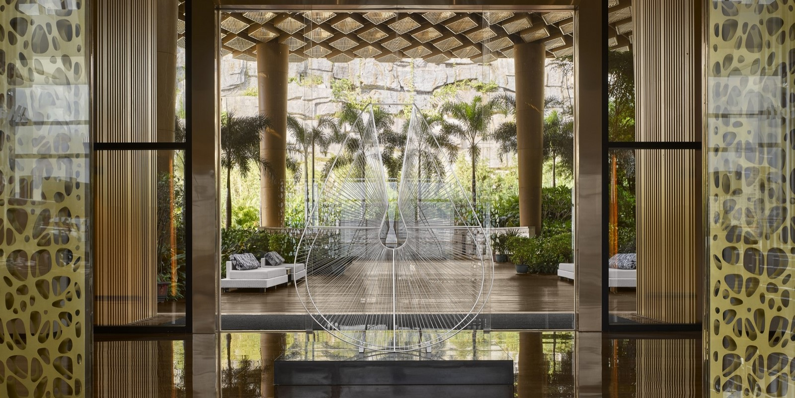 A look at Marriott Hotel's Interiors - Sheet3