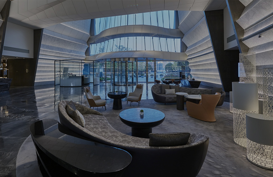A look at Marriott Hotel's Interiors