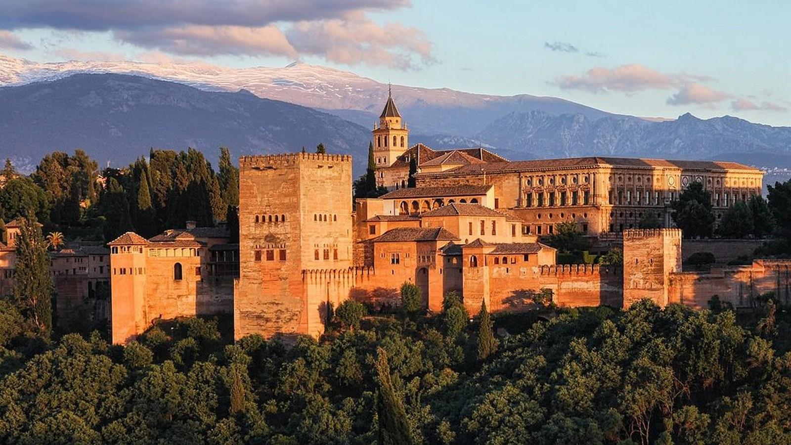 Alhambra Palace – Granada - Sheet2