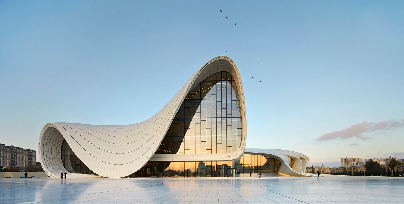 Heydar Aliyev Cultural Center – Baku -Sheet1