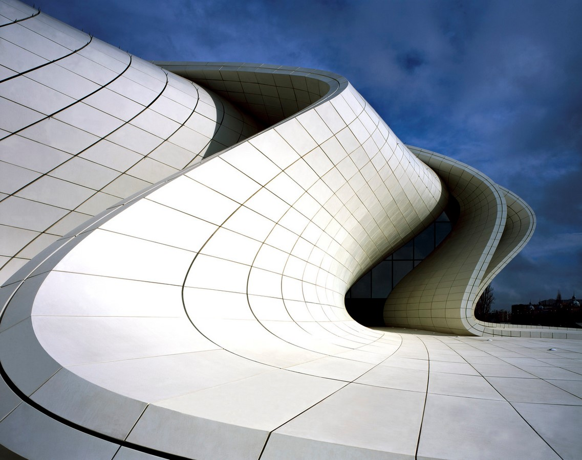 Heydar Aliyev Cultural Center – Baku -Sheet2
