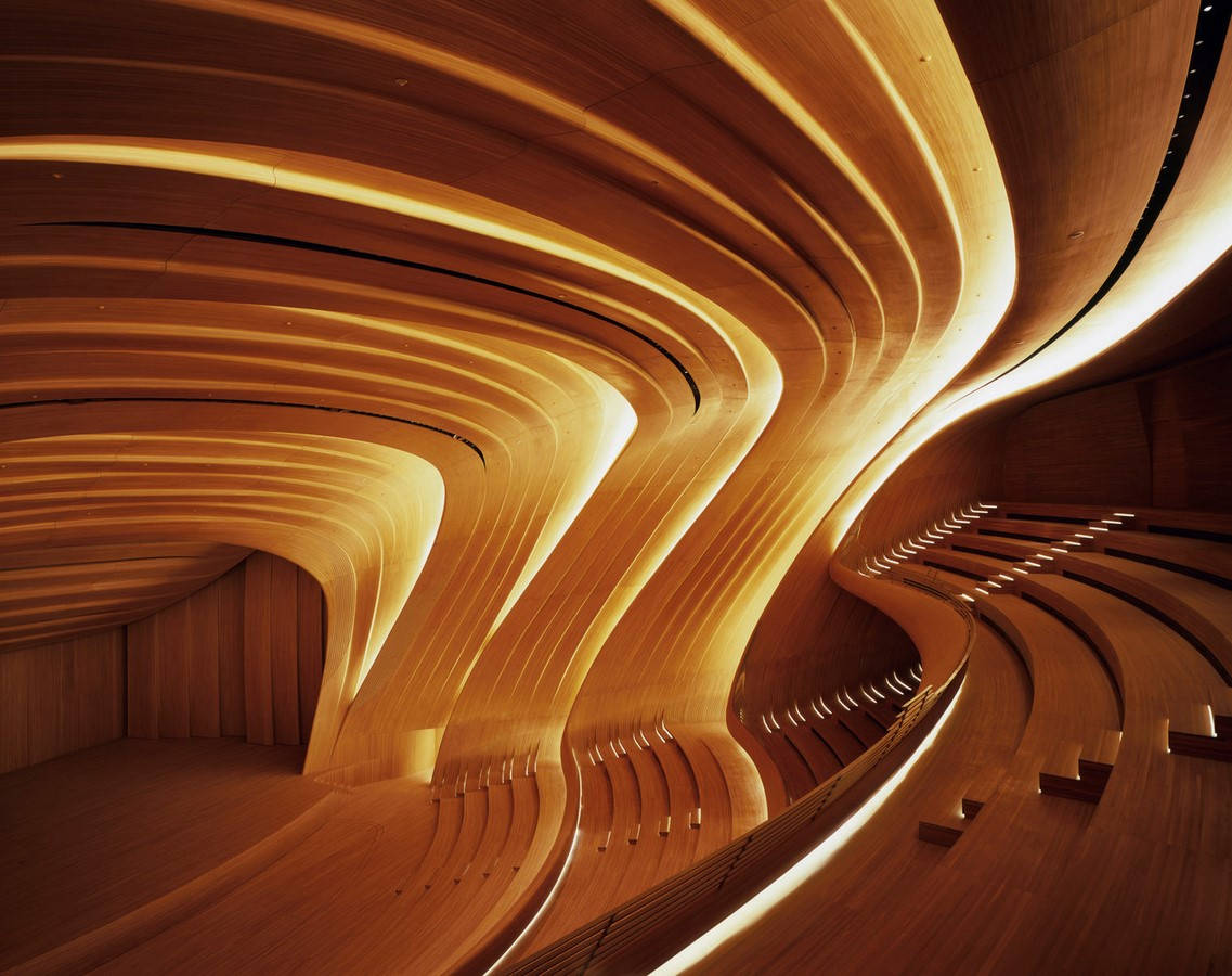 Heydar Aliyev Cultural Center – Baku -Sheet3