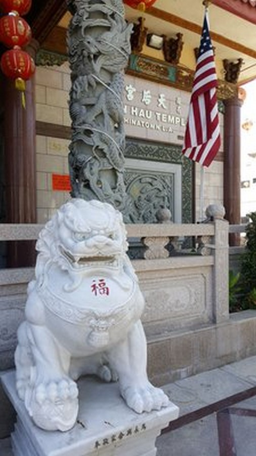 Thien Hau Temple – Los Angeles - Sheet2