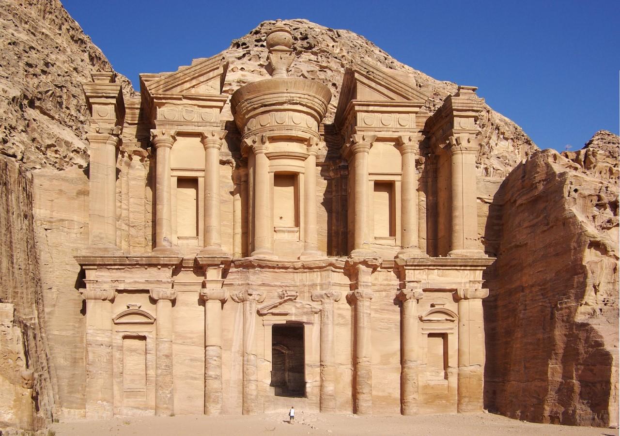 The Ancient city of Petra, South Jordan - Sheet1