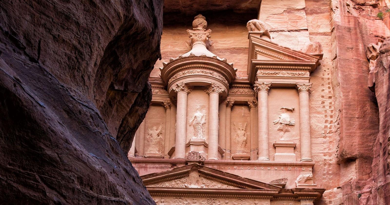 The Ancient city of Petra, South Jordan - Sheet2