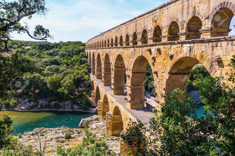 Pont Du Gard, Roman Aqueducts, France - Sheet2