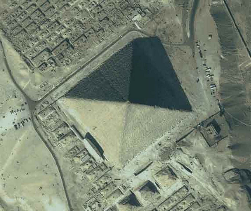 The Great Pyramid of Giza, Egypt - Sheet1