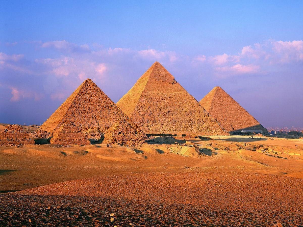 The Great Pyramid of Giza, Egypt - Sheet