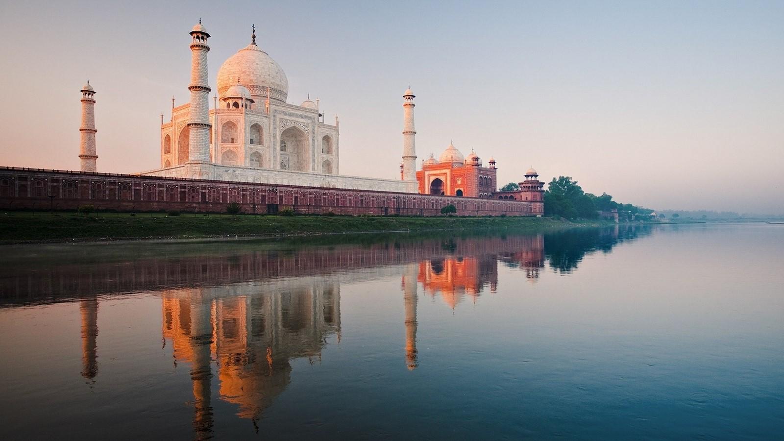 The Taj Mahal, India - Sheet3