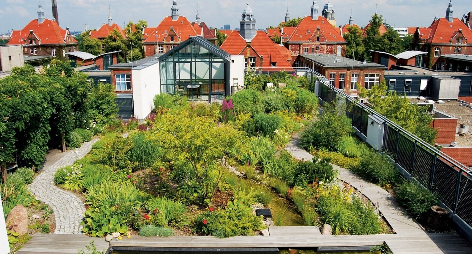 10 things to remember when designing rooftop gardens - Sheet4