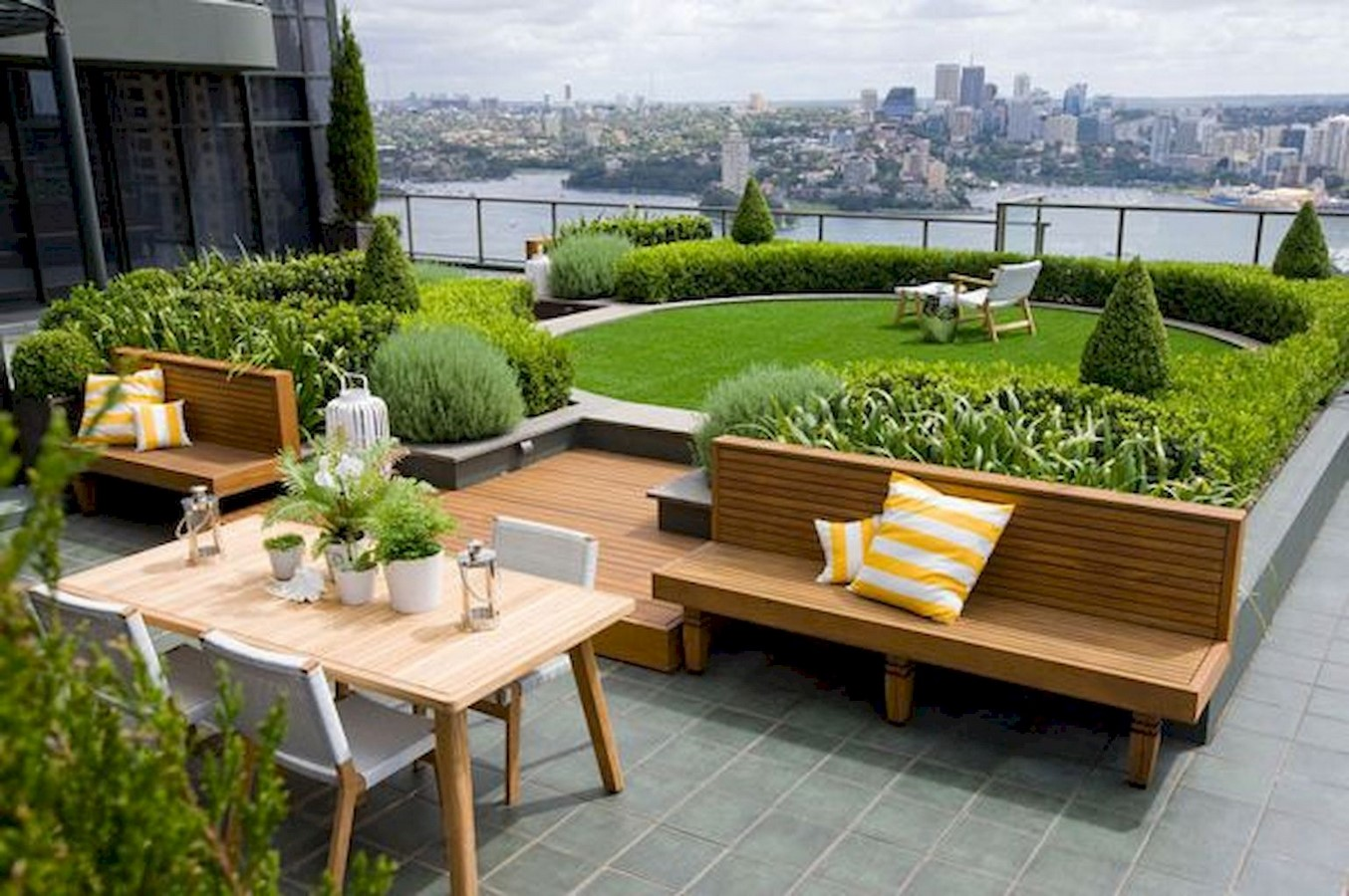 10 things to remember when designing rooftop gardens - Sheet7