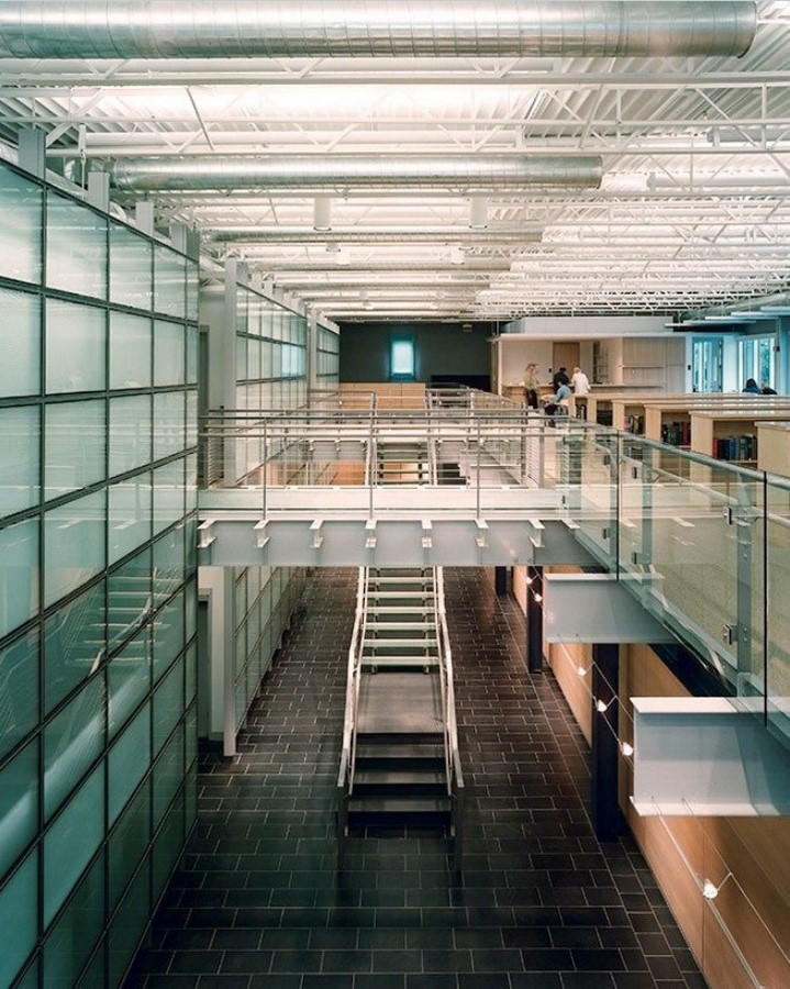 Rakow Research Library, Corning Museum of Glass, New York (2000) - Sheet2