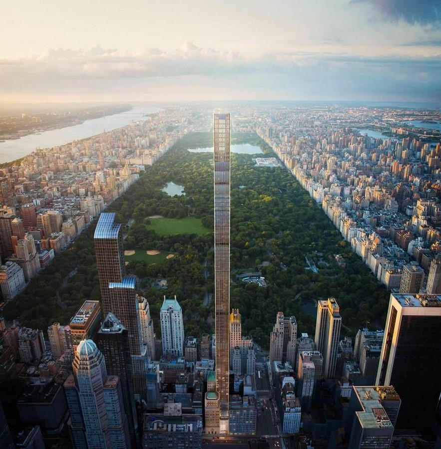 Paul Clemence releases images for the on-going construction works on 111 West 57th designed by SHoP - Sheet1