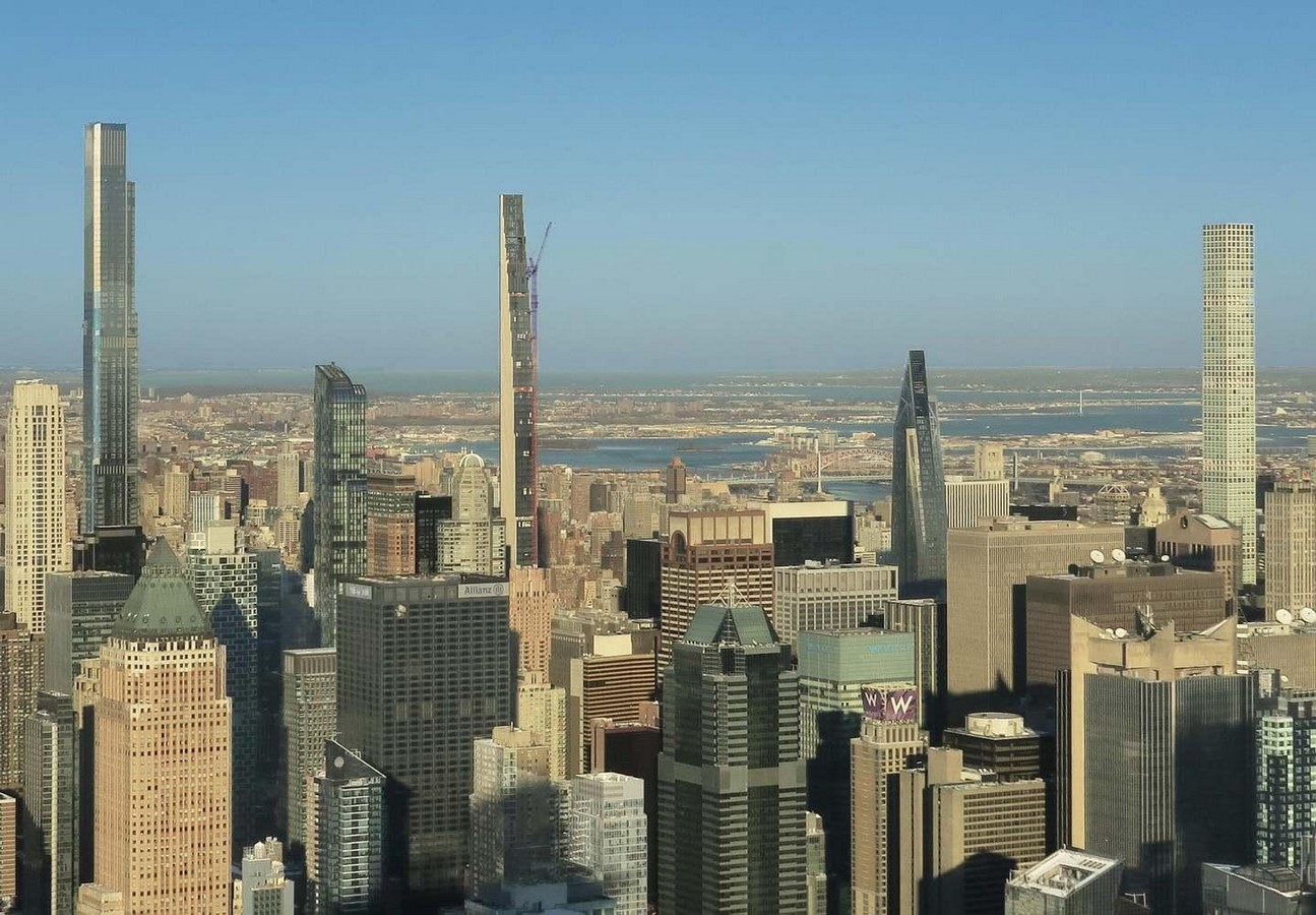 Paul Clemence releases images for the on-going construction works on 111 West 57th designed by SHoP - Sheet3