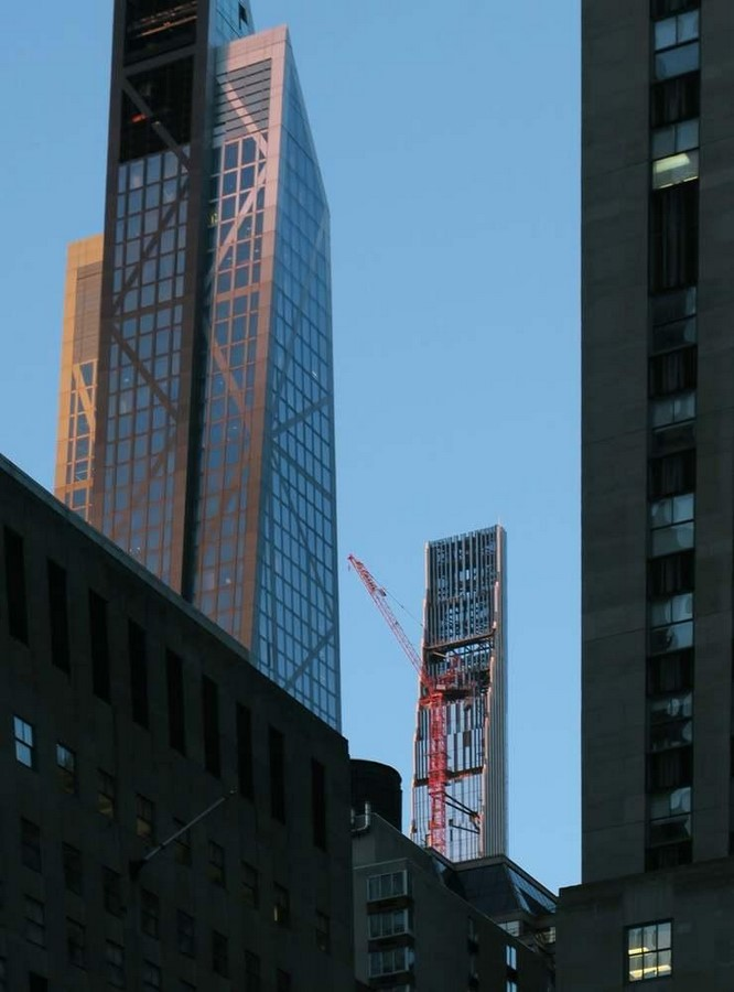 Paul Clemence releases images for the on-going construction works on 111 West 57th designed by SHoP - Sheet4