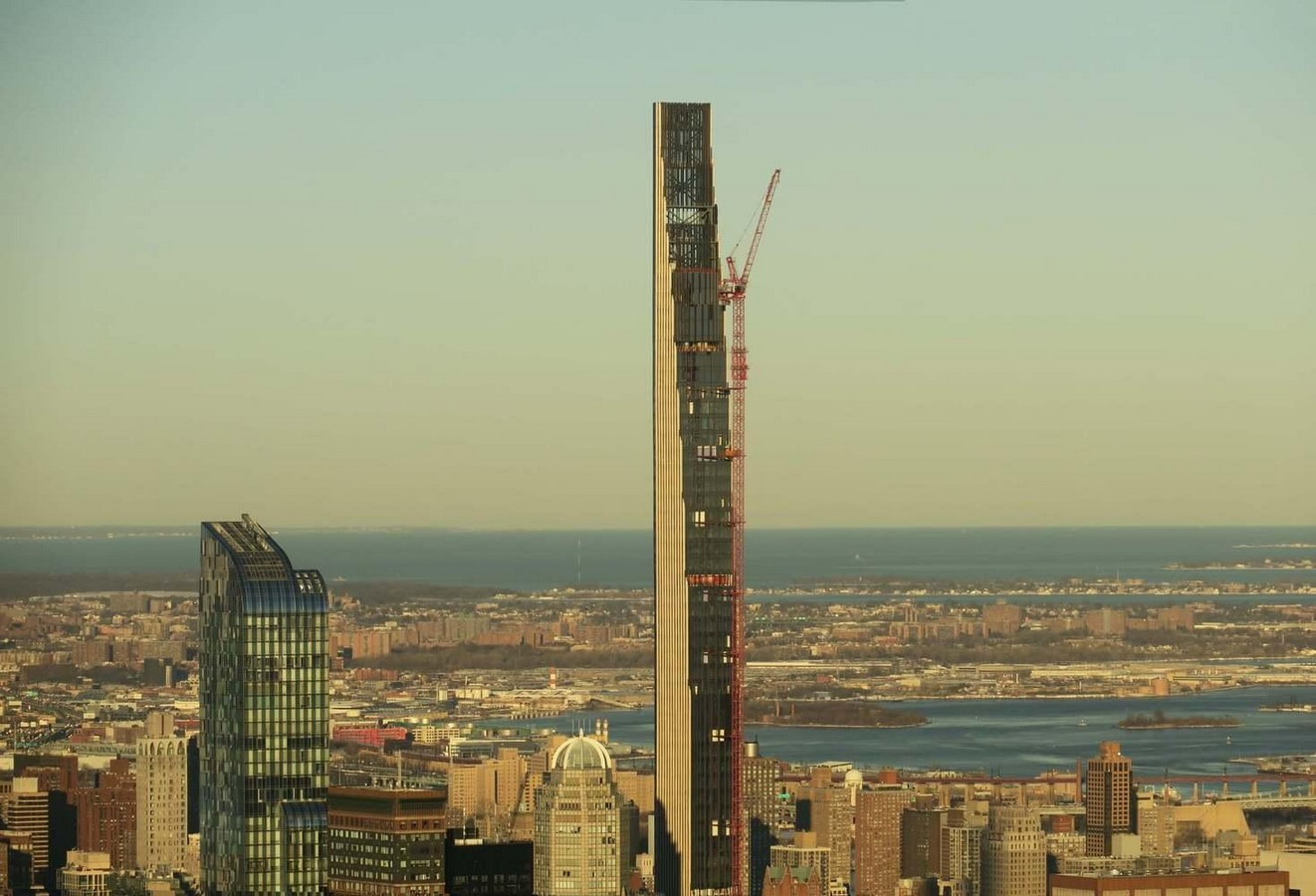 Paul Clemence releases images for the on-going construction works on 111 West 57th designed by SHoP - Sheet5