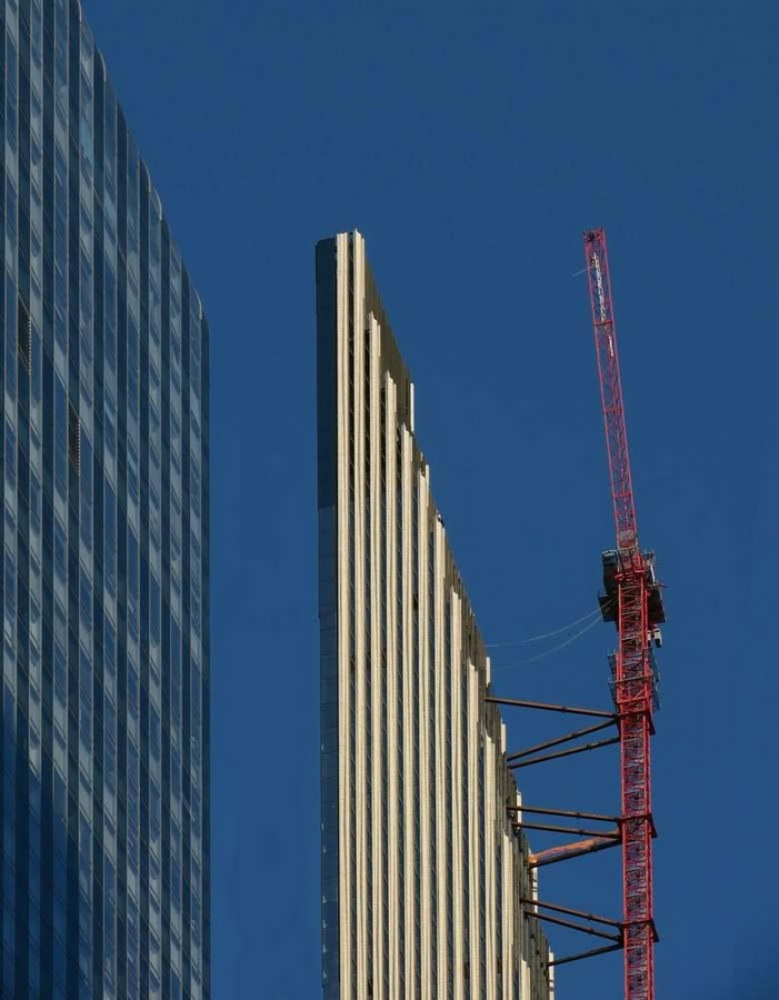 Paul Clemence releases images for the on-going construction works on 111 West 57th designed by SHoP - Sheet6