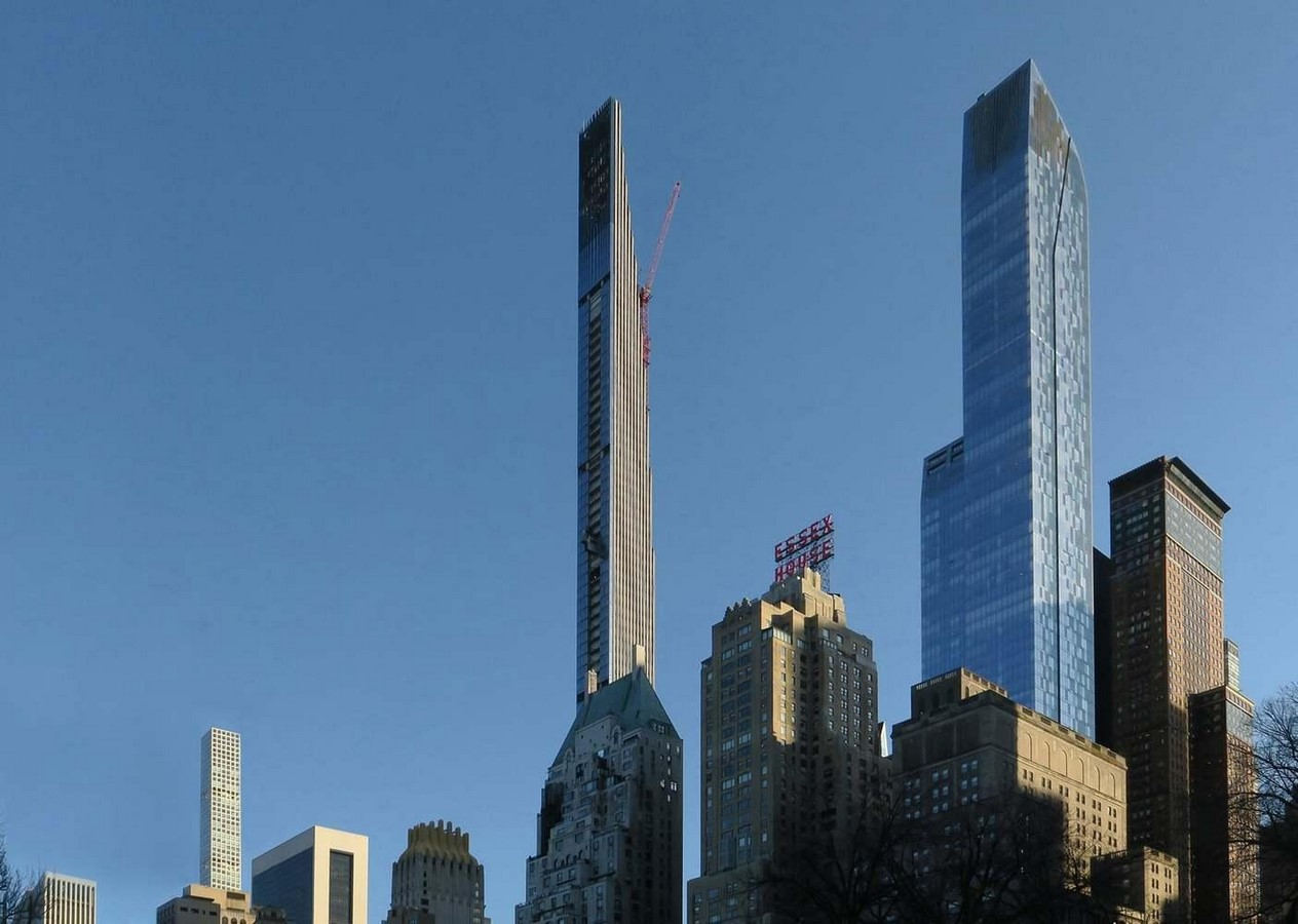 Paul Clemence releases images for the on-going construction works on 111 West 57th designed by SHoP - Sheet8