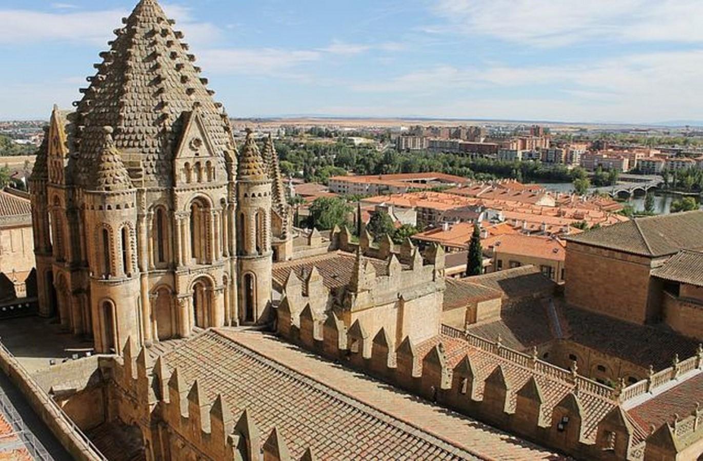 The New Cathedral of Salamanca - Sheet1