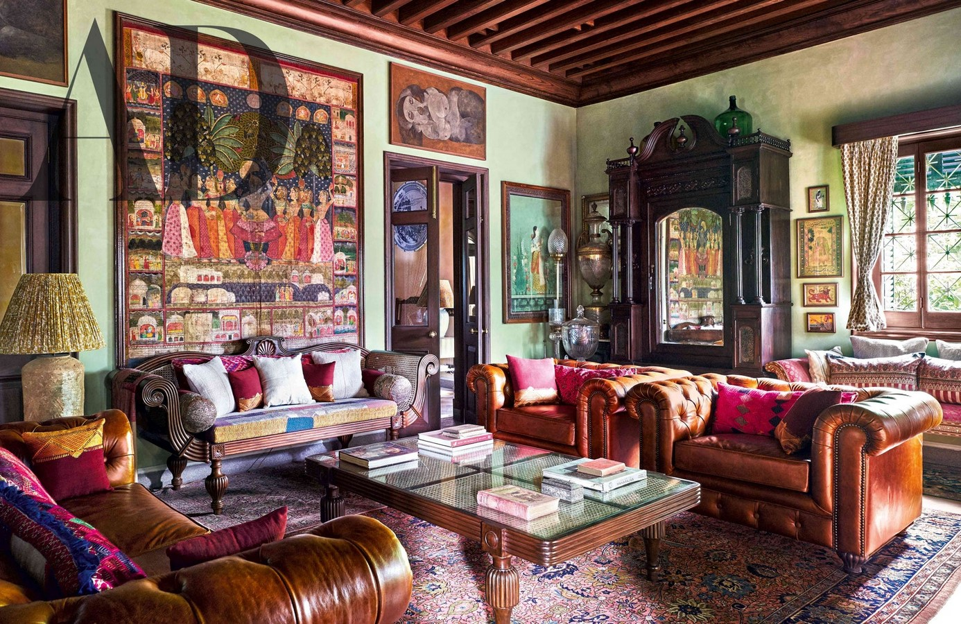 Sabyasachi Mukherjee's Mansion, Calcutta, India