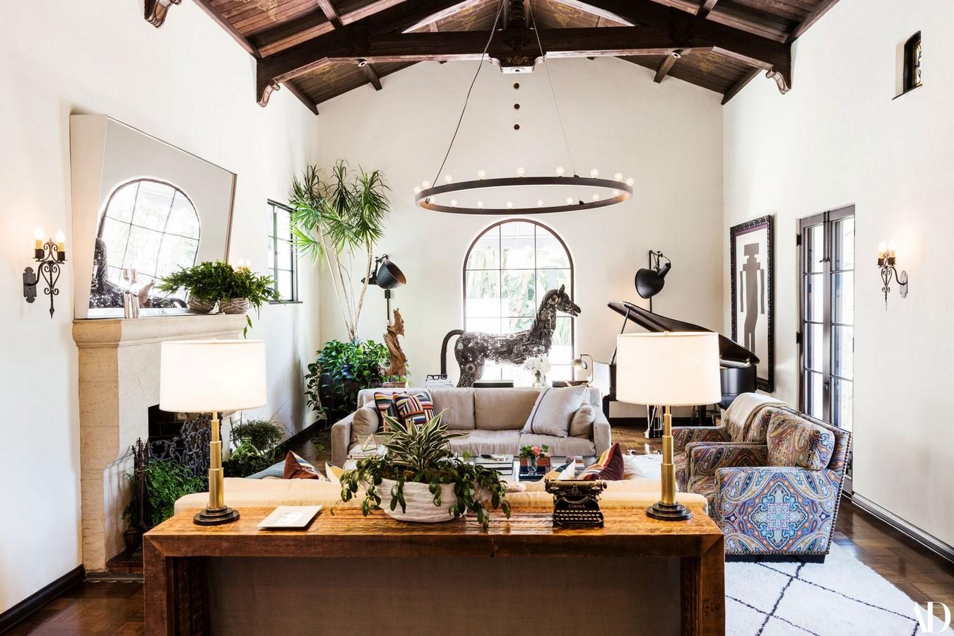 Jesse Tyler Ferguson and Justin Mikita's Home, Los Feliz, USA