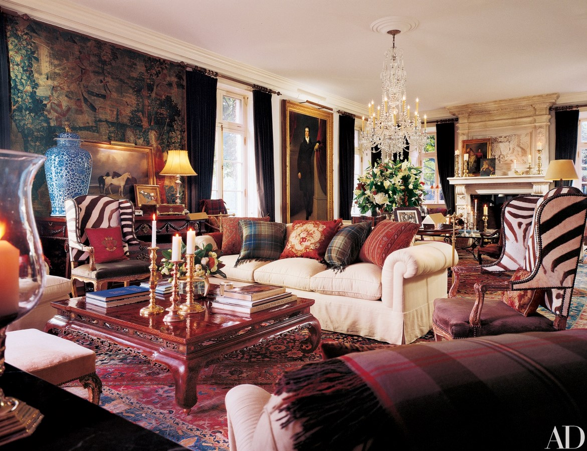 Ralph Lauren's Home, New York, USA