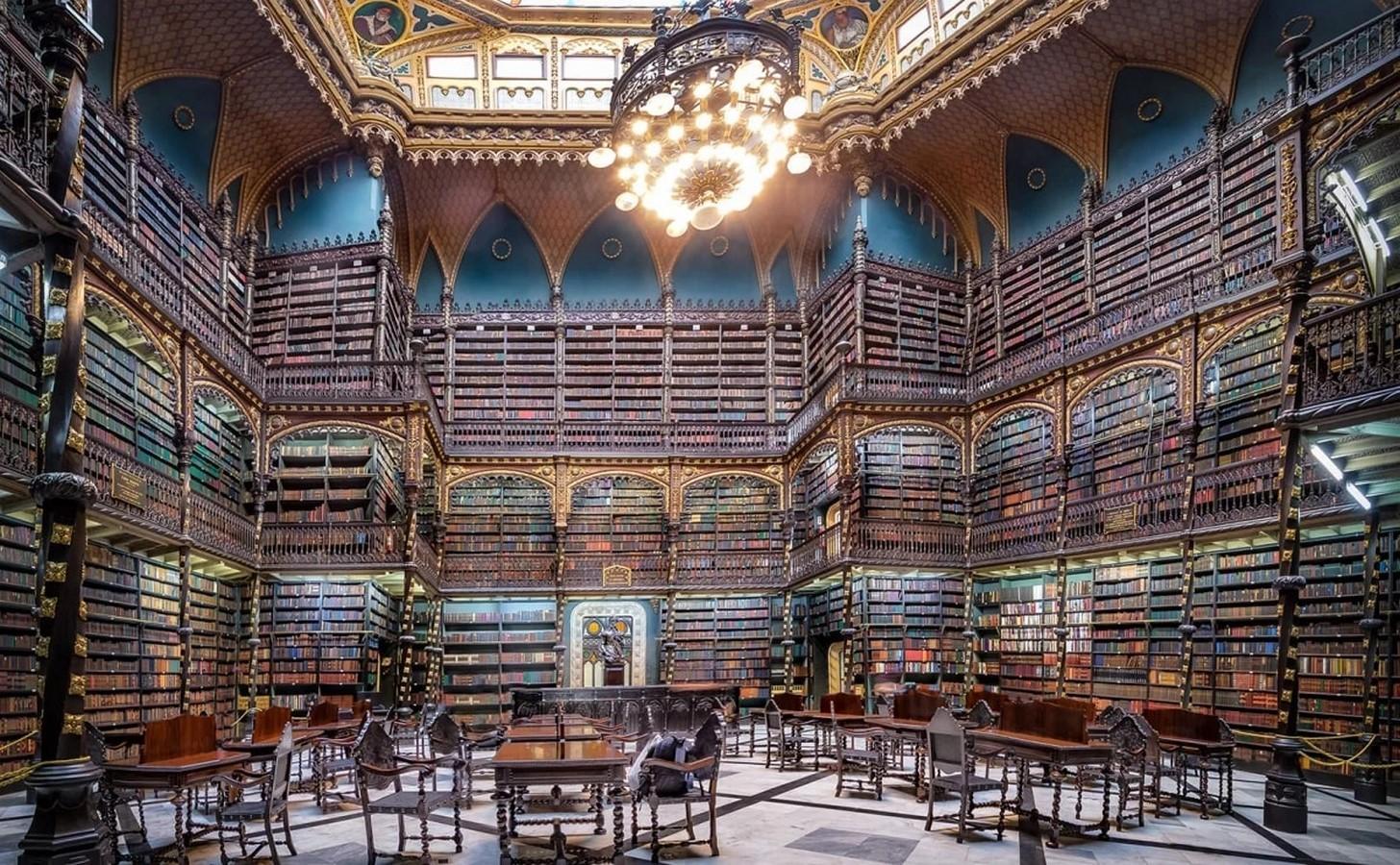 Royal Portuguese Cabinet Of Reading, Rio De Janeiro - Sheet1