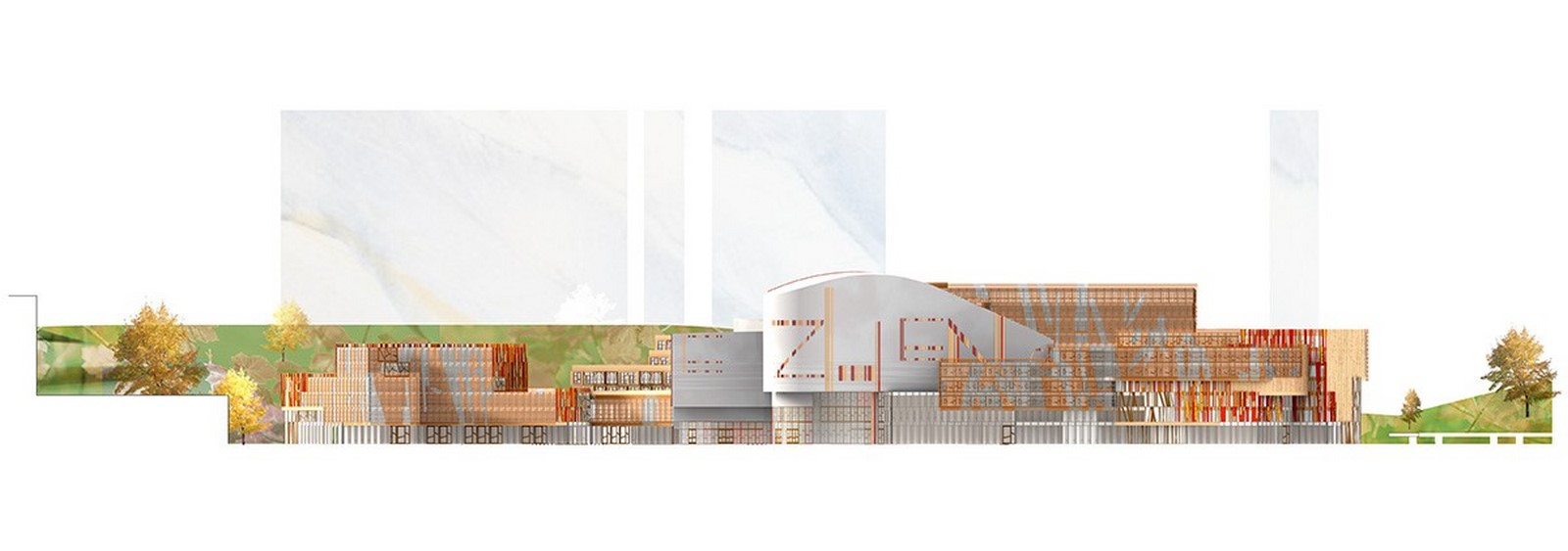 Competition to Design Shenzhen's Conservatory of Music won by Miralles Tagliabue EMBT - Sheet12
