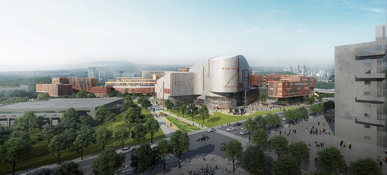 Competition to Design Shenzhen's Conservatory of Music won by Miralles Tagliabue EMBT - Sheet15