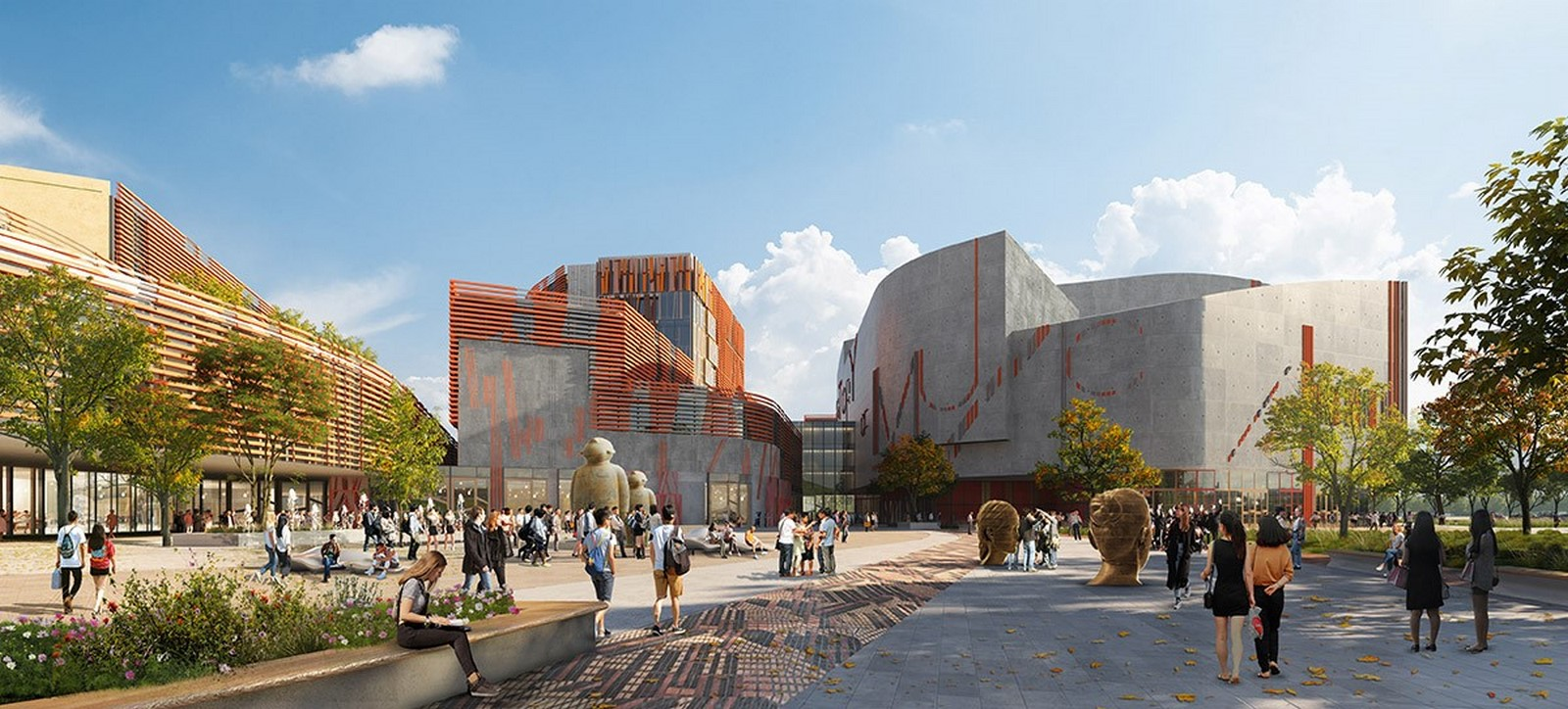 Competition to Design Shenzhen's Conservatory of Music won by Miralles Tagliabue EMBT - Sheet4