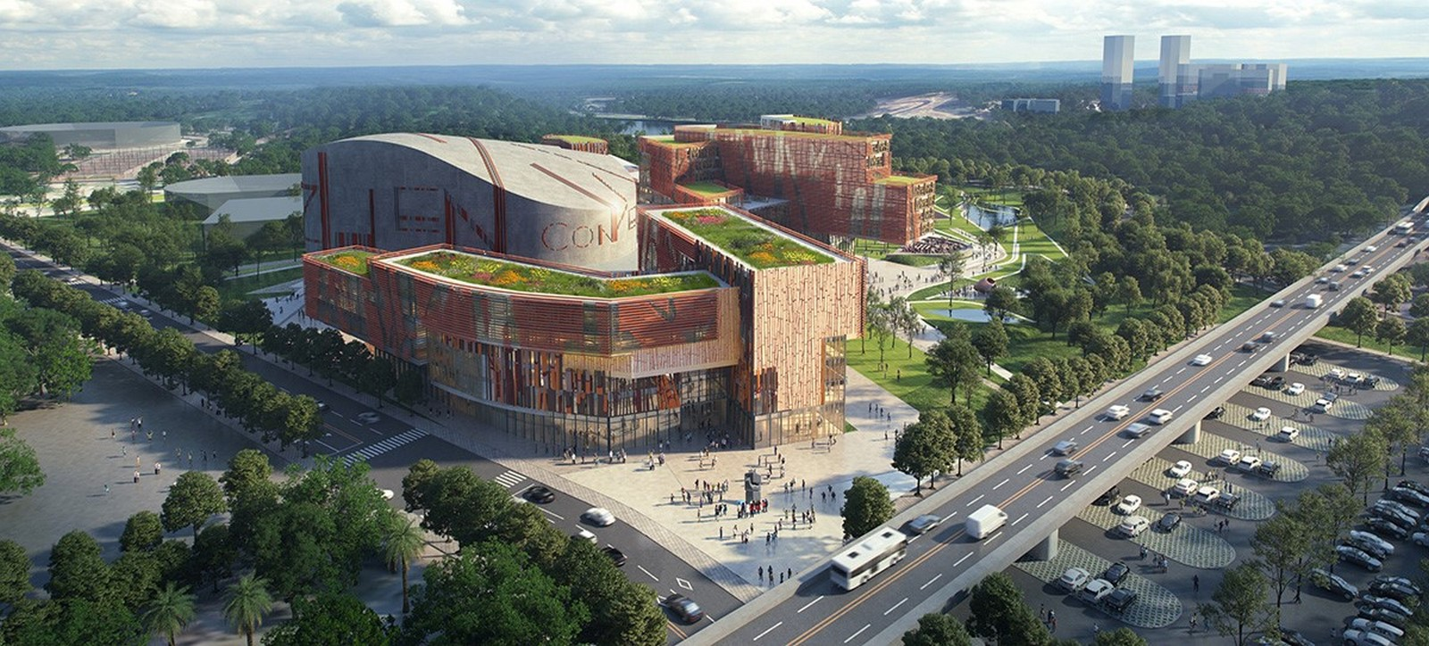 Competition to Design Shenzhen's Conservatory of Music won by Miralles Tagliabue EMBT - Sheet5