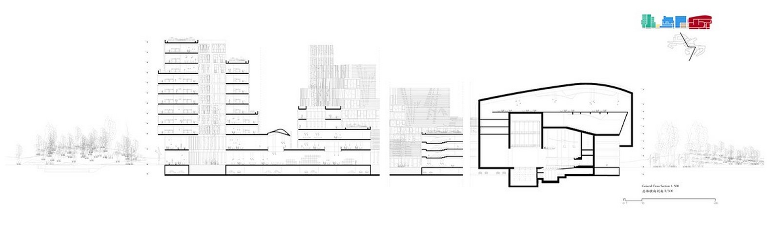 Competition to Design Shenzhen's Conservatory of Music won by Miralles Tagliabue EMBT - Sheet9