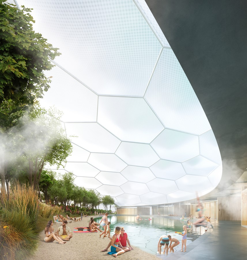 Floating reservoirs to create carbon-free heating for Helsinki proposed by Carlo Ratti Associati - Sheet
