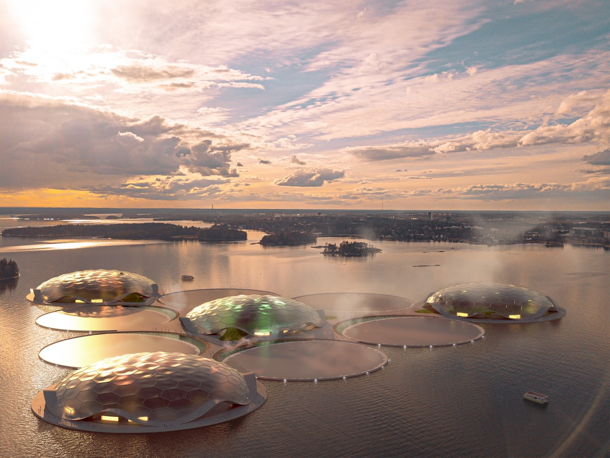 Floating reservoirs to create carbon-free heating for Helsinki proposed by Carlo Ratti Associati - Sheet3