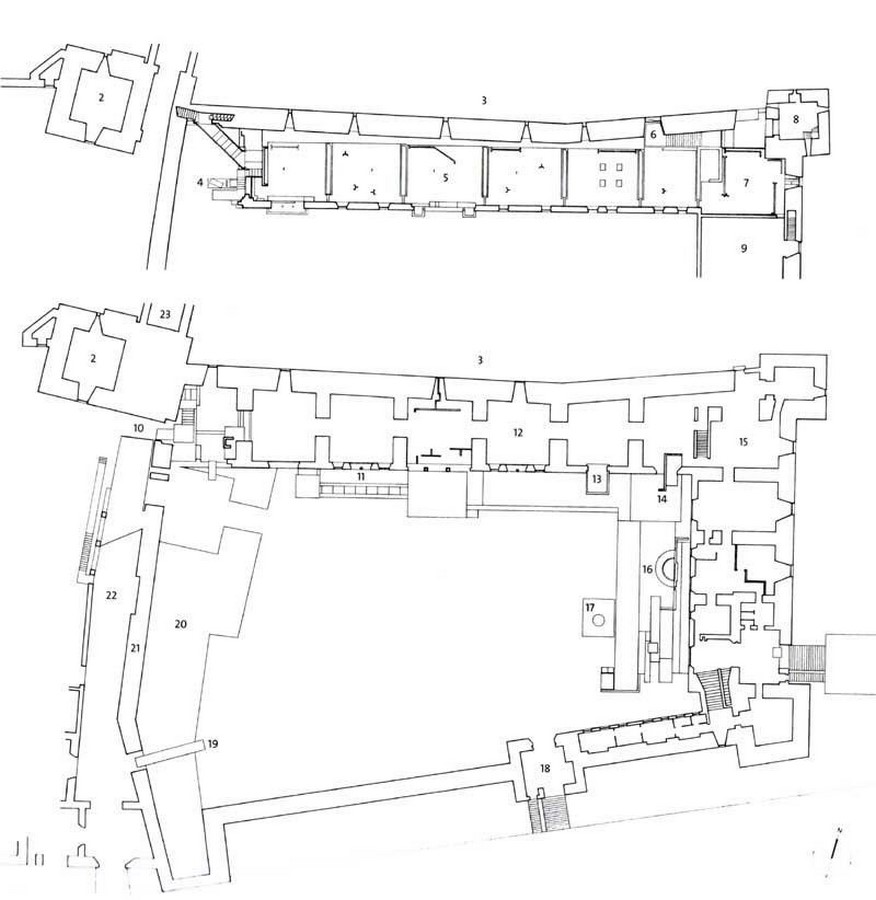 Space Syntax and Co-Visibility in Museum Architecture - Sheet1