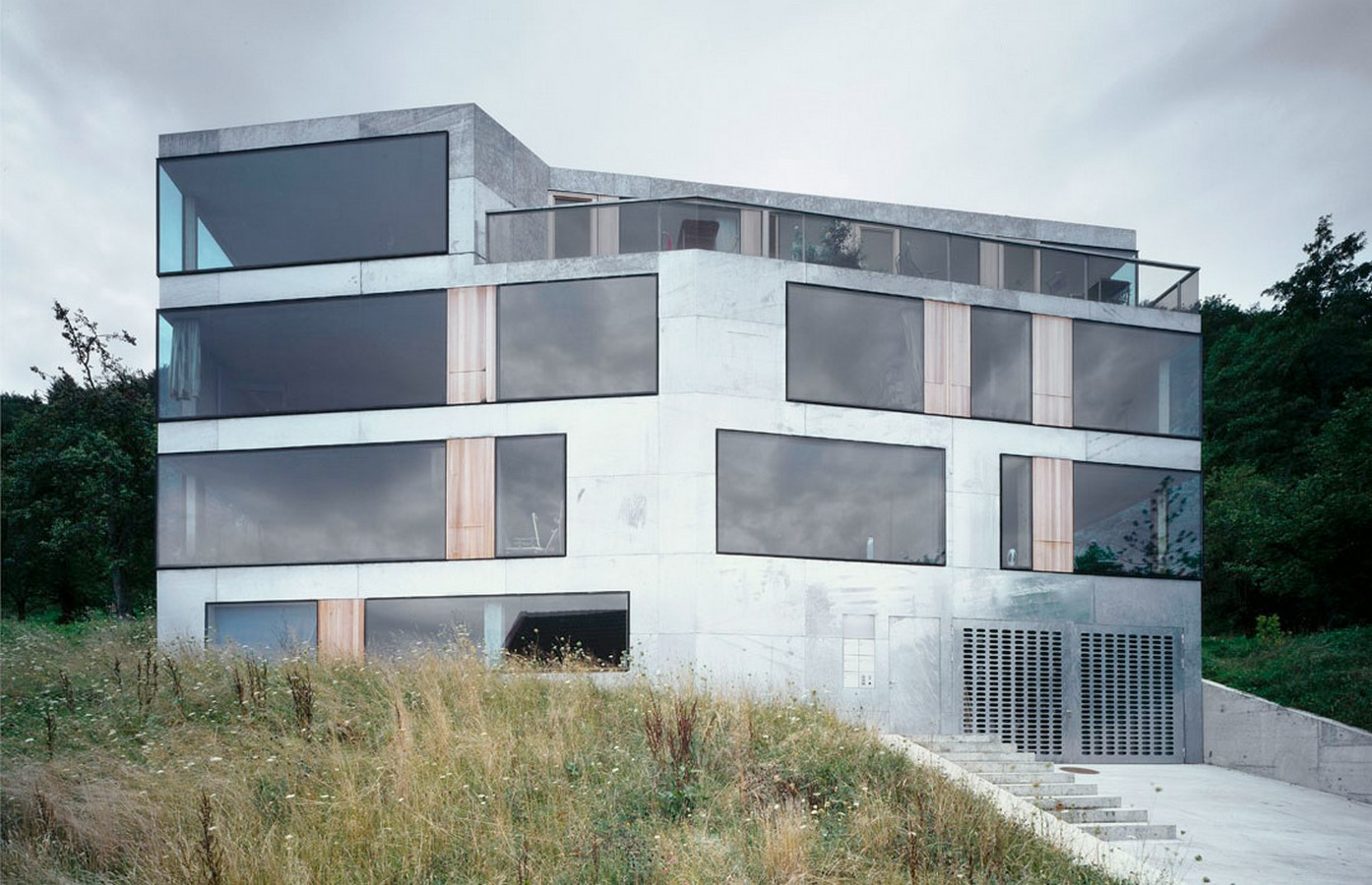 House for architects and artists, Zurich, Switzerland, 2004 - Sheet1