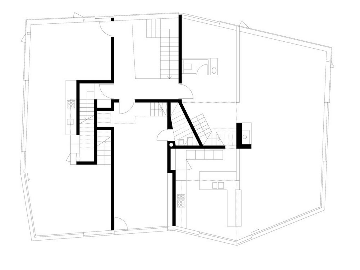 House for architects and artists, Zurich, Switzerland, 2004 - Sheet2
