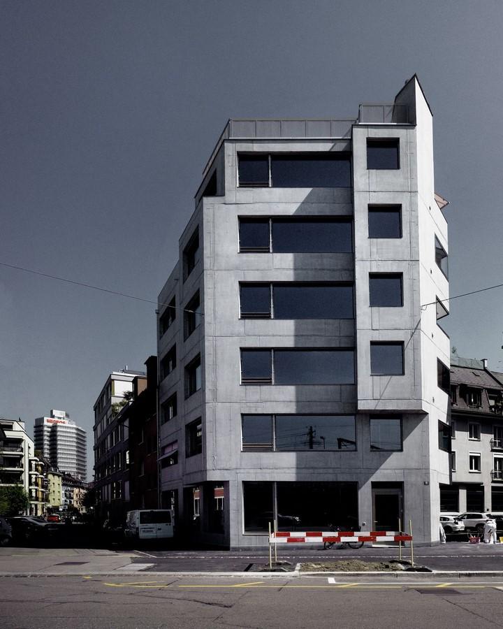Apartment house on Röntgenstrasse, 2010 - Sheet1