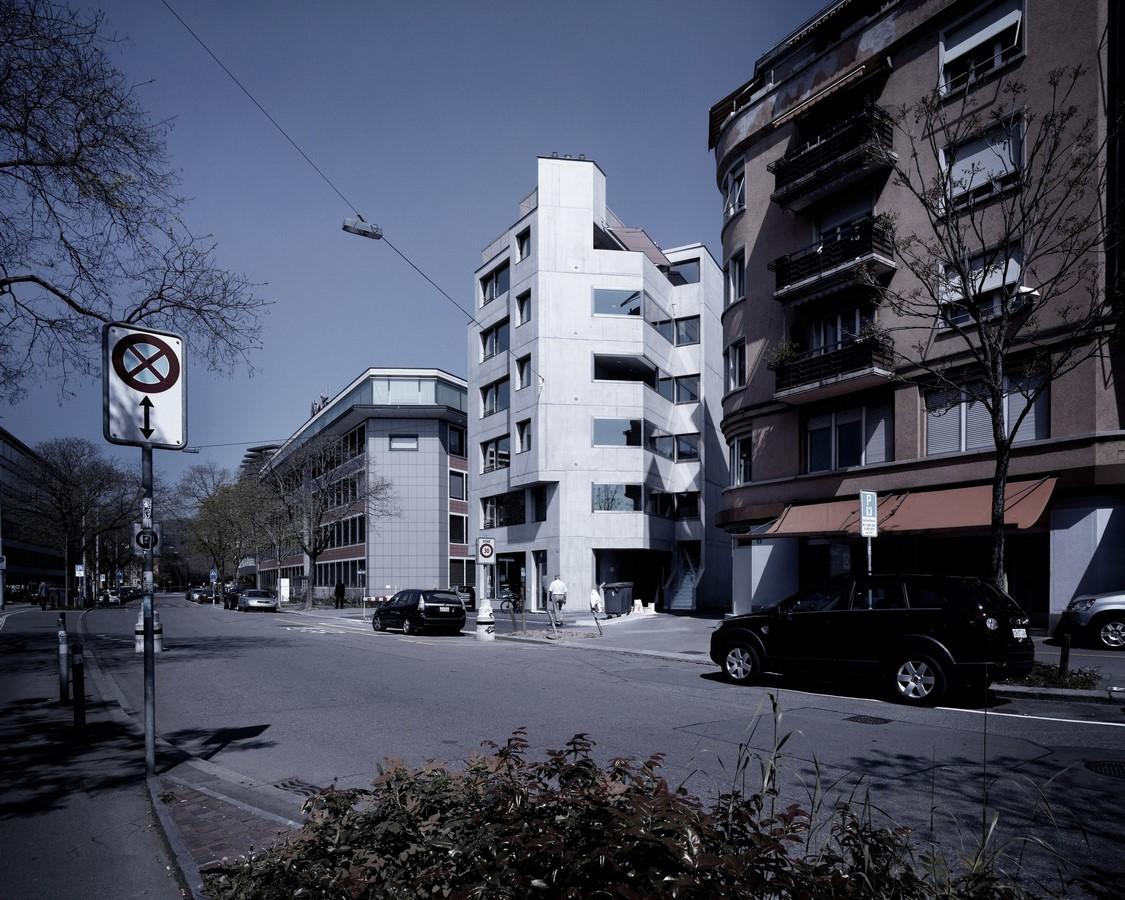 Apartment house on Röntgenstrasse, 2010 - Sheet2