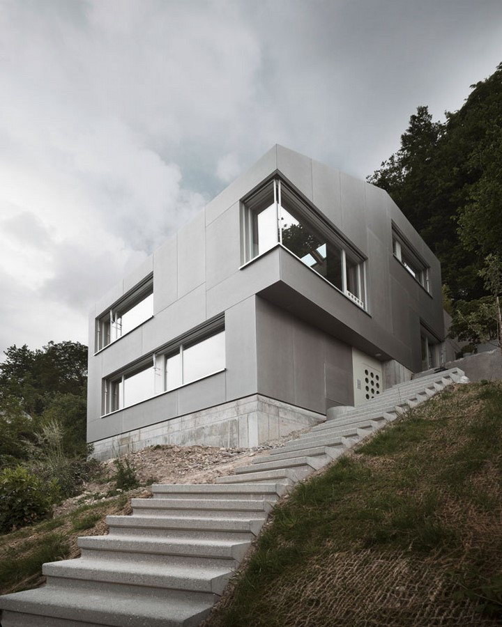 Single Family House in Zurich Oberland, 2011 - Sheet1