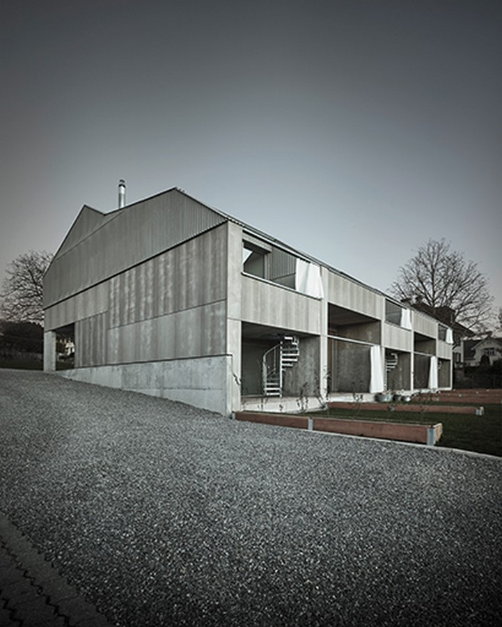 Row Houses in Seengen, 2015 - Sheet2