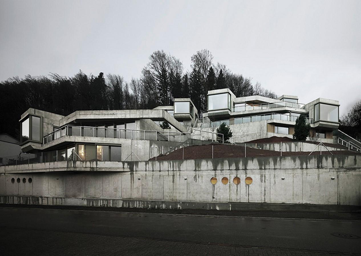 Residential Houses on the Hungerberg Aarau, 2016 - Sheet1