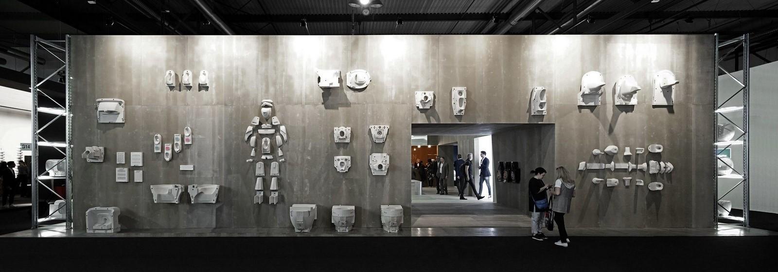 Showroom Laufen Bathrooms at Salone del Mobile, Milano, 2018 - Sheet1